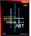 Programming with Managed Extensions for Microsoft Visual C Plus Plus NETVersion 2003