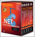 MCADMCSD SelfPaced Training Kit Microsoft NET Core Requirements Exams 7030570315 7030670316 7031070320 and 70300