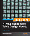 Instant HTML5 Responsive Table Design Howto